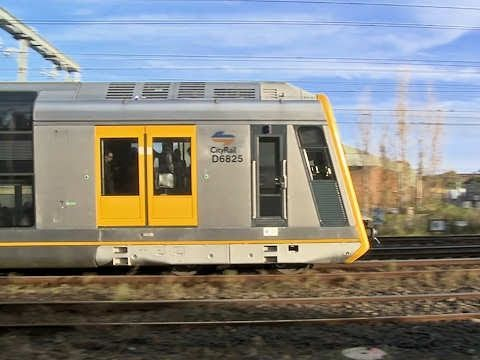 Cityrail Passenger Trains at Tempe - Sydney NSW - Part 1