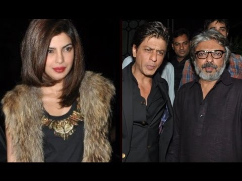 Shahrukh & Priyanka Chopra At Sanjay Leela Bhansali's Party