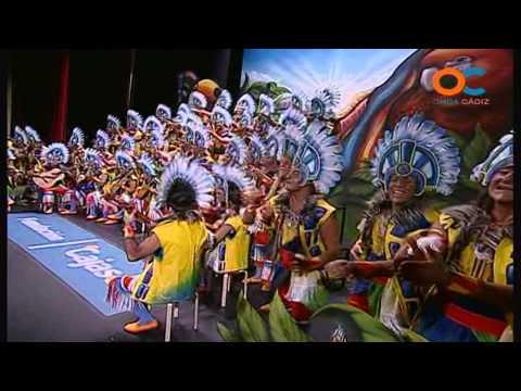 Sesión de Preliminares, la agrupación Los sudamericanos actúa hoy en la modalidad de Coros.