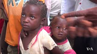Children, Adults Face Dire Crisis in Central Congo After Conflict, Insecurity - VOAVIDEO