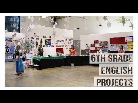 6th Grade English Projects 2019