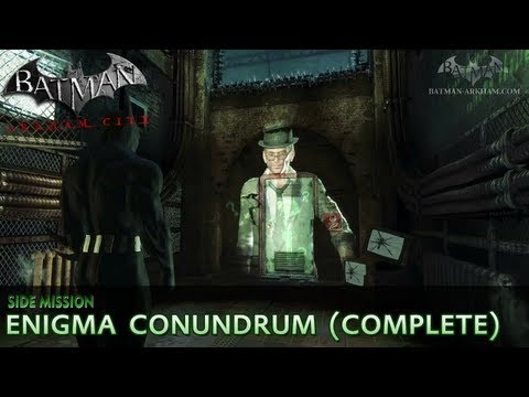 Enigma Conundrum (The Riddler) - Batman: Arkham City Side Mission Walkthrough
