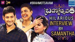Mahesh Babu Samantha Kajal Aggarwal Hilarious Interview | Brahmotsavam Movie | TFPC - TFPC