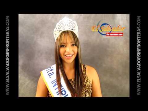 Sandy Reyes Durán los Invita a las Fiestas de Intipucá 2013
