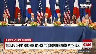 Trump's new N. Korea sanctions (full speech) - CNN