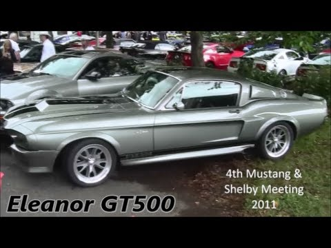 1967 Mustang Shelby GT500 Eleanor!!! Start's up, Revving + Idle!! Awesome Sound 720p HD