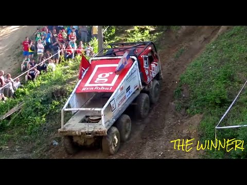 TOP Extreme Truck Hill CLIMB Race 2014