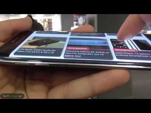 Samsung Galaxy S6 Edge Ελληνική παρουσίαση - Review @TechValue.gr