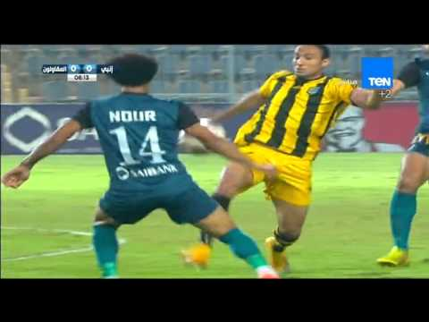 مباراة إنبى VS المقاولون العرب 3/1 ... الدورى المصرى الاسبوع التاسع 2015/2016