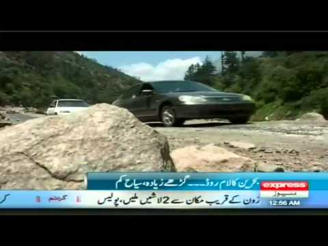 tourist places in swat valley kalam by sherinzada