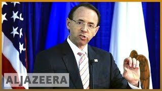 🇺🇸 Will Trump fire Rod Rosenstein over Russia interference probe? | Al Jazeera English - ALJAZEERAENGLISH
