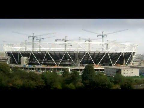London 2012 Olympic Stadium time-lapse video