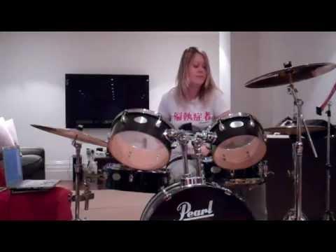 female drummer jazz hot hannah de koster