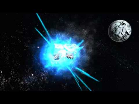 Space Explosion 2 - Green & Blue Screen - Chroma key Effect