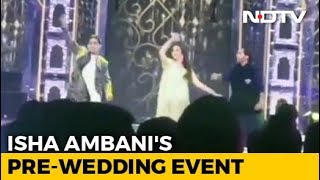 Nita Ambani Dances To Bollywood Number At Isha's Pre-Wedding Event. Watch - NDTV