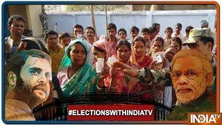 West Bengal Polling Percentge Till 9AM: Malda South14%, jangipur 8%, Murshidabad 4% - INDIATV