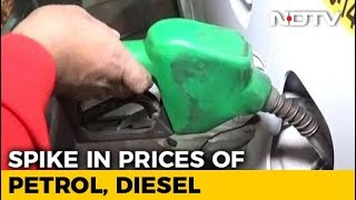 Petrol Price Surges To Rs. 74.07 In Delhi, Highest Since September 2013 - NDTV