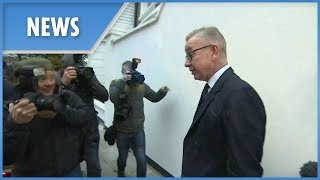 Michael Gove probed by the press this morning - THESUNNEWSPAPER