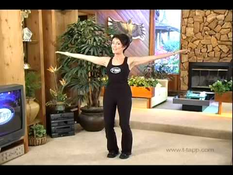 Burn Back Fat and Bra Pudge with Teresa Tapp's Secret At Home Fitness DVD Workout video