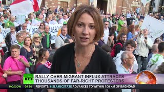 'Stop Invasion!' Thousands protest at anti-immigration rally in Italy - RUSSIATODAY