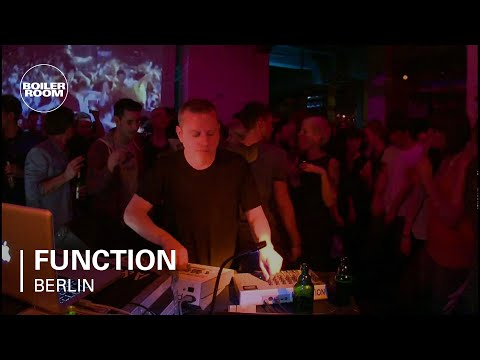 Function Boiler Room Berlin LIVE Show