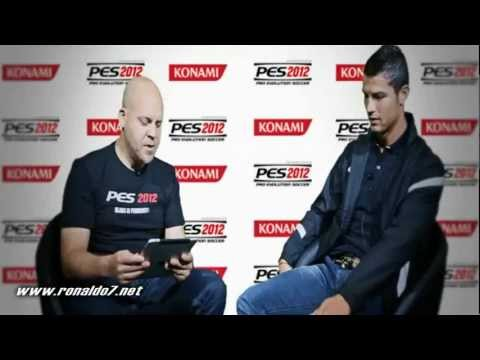 Cristiano Ronaldo interview to KONAMI (PES 2012)
