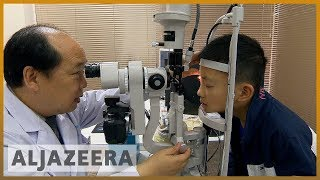 🇨🇳China's myopia epidemic: Short-sightedness high among schoolkids | Al Jazeera English - ALJAZEERAENGLISH