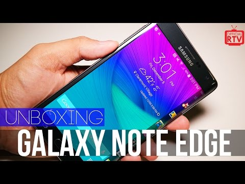 Samsung Galaxy Note Edge Unboxing & Impressions