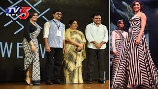 Telangana Govt National Handloom Day Celebration Highlights   #wearhandloom   TV5 News - TV5NEWSCHANNEL