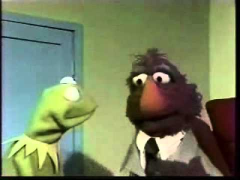 Sesame Street Salesman Telly and Kermit