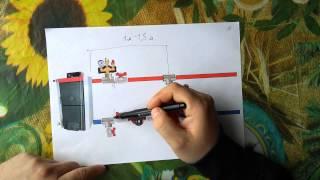 Как подключить твердотопливный котел