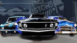 Об этих машинах мечтают все! Camaro SS, Mustang '69 и др!