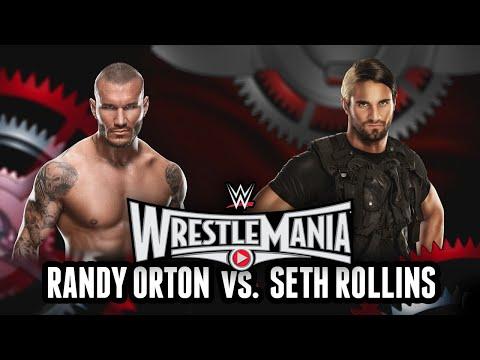 WWE 2K15 - Wrestlemania 31: Randy Orton vs. Seth Rollins (WWE 2K15 Match Simulation)