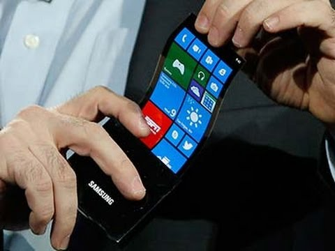Samsung Keynote @ CES 2013 - Youm flexible Displays OLED Display [HD]