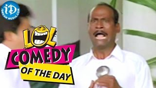 Comedy of the day 21 || Ali, Lakshmipathi Comedy Catering Scene from Nee Sneham Movie - IDREAMMOVIES