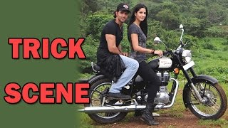 Hrithik Roshan tricked Katrina Kaif for a bike scene! - EXCLUSIVE