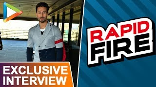 "Tiger Shroff: ""If I Met RAMBO, I Would..."" 