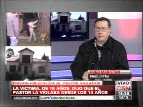 C5N -  POLICIALES:  PRISION PREVENTIVA PARA EL PASTOR VIOLADOR