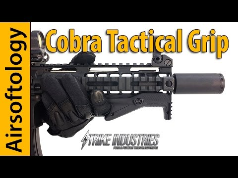 Strike Industries Cobra Angled Foregrip | The Best of Both Worlds? | Airsoftology