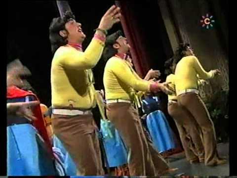 Sesión de Final, la agrupación Los que cosen pá la calle actúa hoy en la modalidad de Chirigotas.