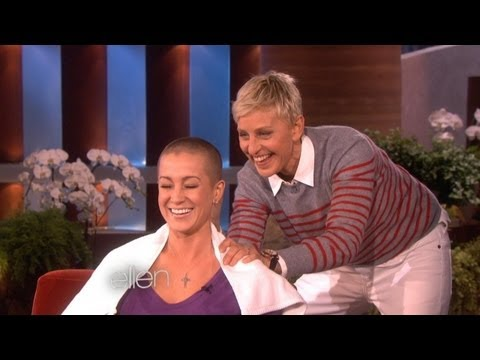 Ellen Shaves Kellie s Head