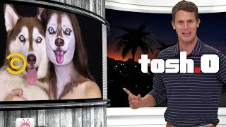 Tosh's Best Dog Moments - Tosh.0 - COMEDYCENTRAL
