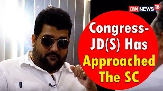 Cyrus | Congress-JD(S) Has Approached The SC | CNN News18 - IBNLIVE