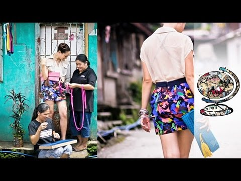 The Filipino Women Turning Rags into High Fashion