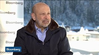 Goldman Sachs CEO Lloyd Blankfein: If Donald Trump's Anti-Trade, I'm at Odds With Him - BLOOMBERG