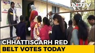 Voting Starts In Chhattisgarh's Red Belt, BJP Aims For 4th Term - NDTV