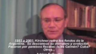 Matrimonio Kirchner: robo de 654 millones de dolares