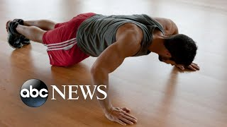 More than 40 pushups linked to lower heart disease risk for some - ABCNEWS