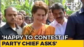On Varanasi Contest, Priyanka Gandhi Lobs Ball In Brother's Court - NDTV
