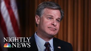FBI Director: No White House Pressure On Russia Investigation | NBC Nightly News - NBCNEWS